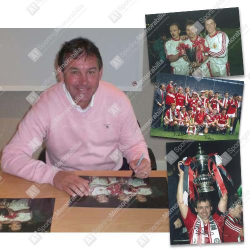 Bryan Robson signed photos