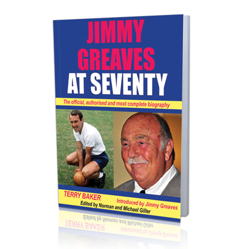 Jimmy Greaves at 70 Book - Signed by Jimmy Greaves