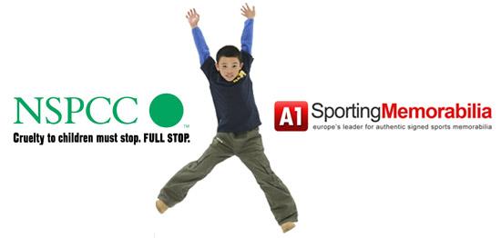 NSPCC & A1 Sporting Memorabilia