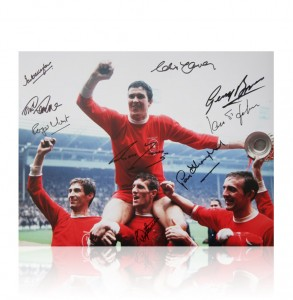 Liverpool 1965 FA Cup Signed Photo