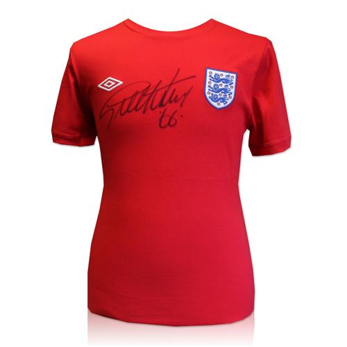 Sir Geoff Hurst 1966 signed shirt