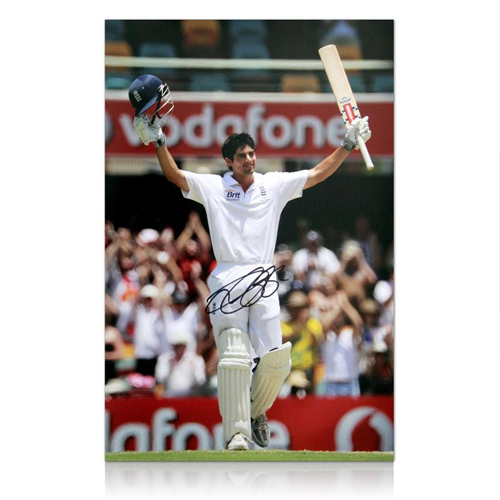 Alastair Cook had signed Ashes England Cricket Photo