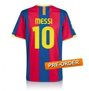 Pre-order Lionel Messi signed Barcelona shirt