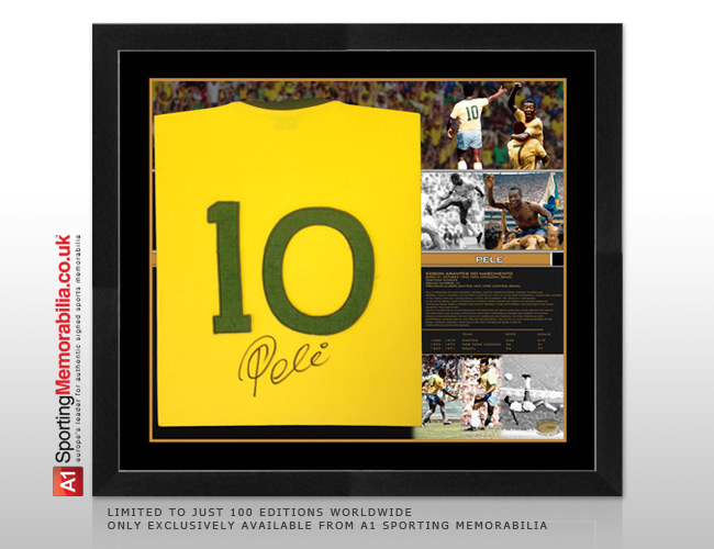Exclusively available from A1 Sporting Memorabilia