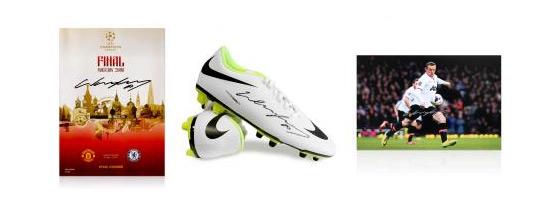 Wayne Rooney Signed Football Memorabilia