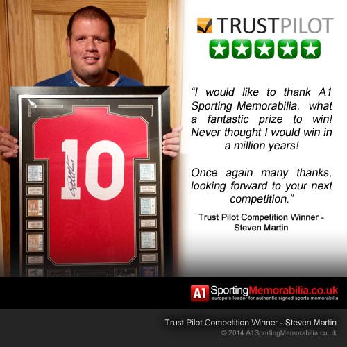 Trust Pilot Competition Winner - Steven Martin