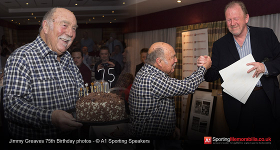 Jimmy Greaves 75th Birthday