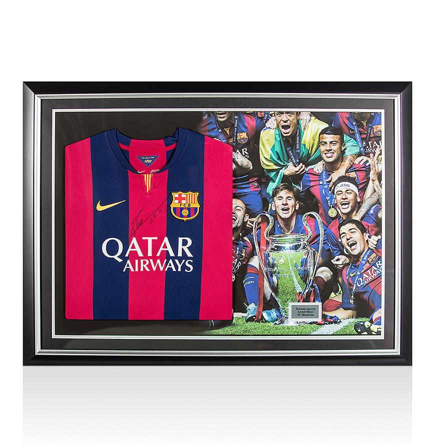 Lionel-Messi-Signed-Framed-Football-Shirt