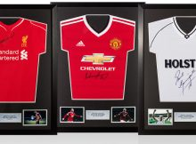 Wayne-Rooney-And-Steven-Gerrard-Express-Framed