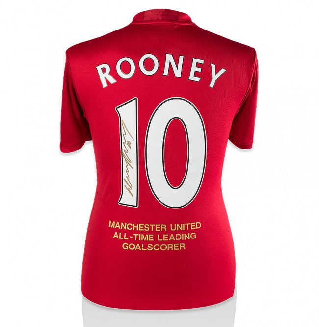 wayne-rooney-signed-manchester-united-shirt-signed-gold-all-time-record-goalscorer